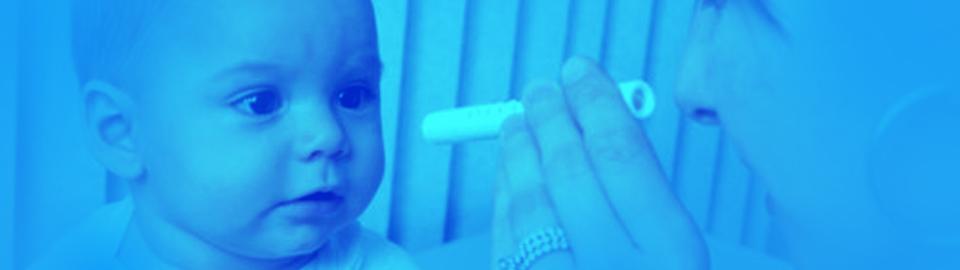 تست بینایی نوزاد در منزل