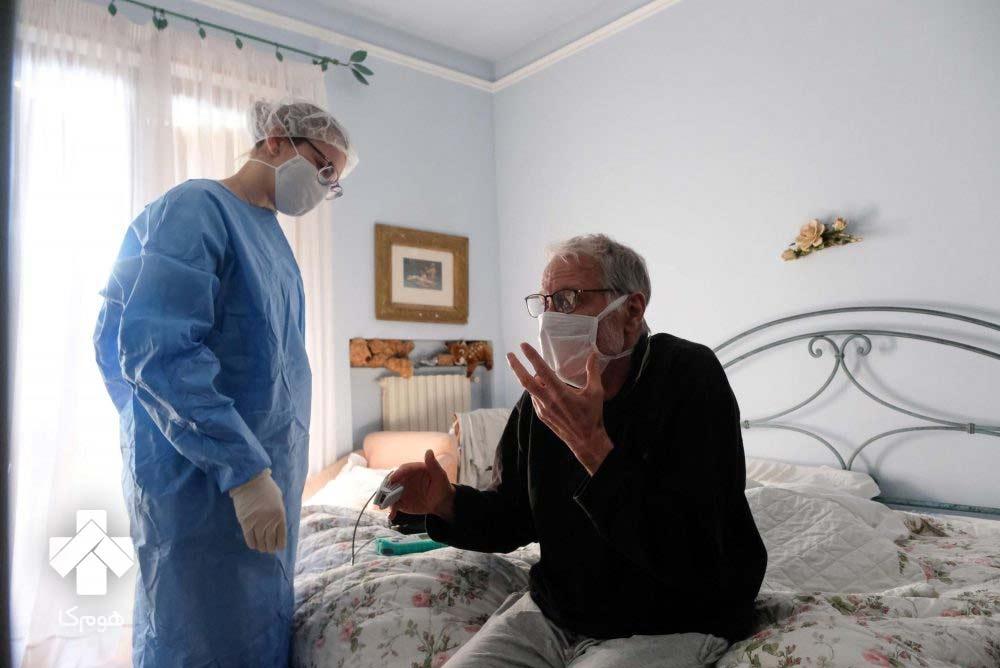 مراقبت از بیمار کرونا در منزل