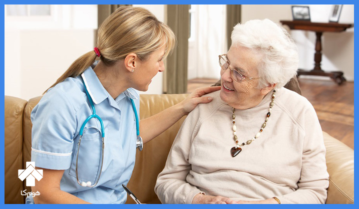 پرستار سالمند در تهران